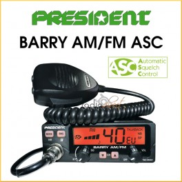 PRESIDENT BARRY AM/FM ASC